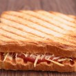 Stock Photo: Sandwich toast