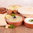 Stock Photo: Lebanese food