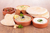 Lebanese food — Stock Photo