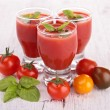 Tomato gazpacho — Stock Photo