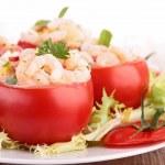 Tomato appetizer — Stock Photo