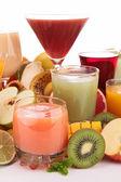 Fruit juice isolated — Stock Photo