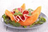 Prosciutto and melon — Stock Photo