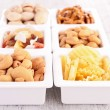Assortment of appetizers — Stock Photo #28674511