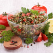 Stock Photo: Lebanese tabbouleh