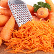 Grated carrot — Foto Stock