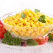 Bowl of salad — Stock Photo