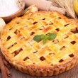 Stock Photo: Apple pie
