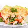Chicken pot pie — Stock Photo #30337361