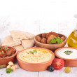 Lebanese food, cold mezze — Stock Photo #30337703