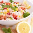 Stock Photo: Rice salad