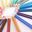 Stock Photo: Colored pencil