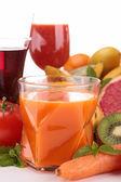 Carrot juice — Stock Photo