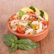 Shrimp salad — Stock Photo #30934433