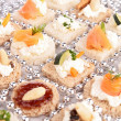 Appetizers for holiday — Stock Photo #30939475