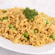 Rice and pea — Stockfoto #30957235