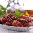 Dried fruit, date — 图库照片