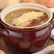 onion soup&quot — Stock Photo #31163501