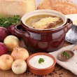 onion soup&quot — Stock Photo #31271463