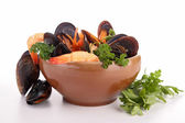 Crustacean soup — Stock Photo