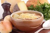 オニオン スープ — ストック写真
