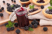 Berry jam — Stock fotografie