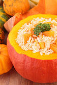 Pumpkin risotto — Foto Stock