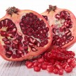 Stock Photo: Ripe pomegranate fruit