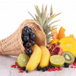Assortment of fruits — Stock Photo