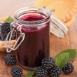 Berry jam — Stock Photo