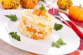 Risotto de citrouille — Photo