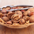 Stock Photo: Assortment of nuts