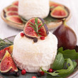 Goat cheese with figs — Foto Stock