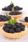 Blackberry pastrys — Stock Photo