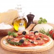 Pizzwith ingredient — Stock Photo #32691463