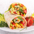 Vegetable wrap — Stock Photo #32691681