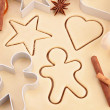 Gingerbread recipe — Stock Photo