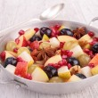 Autumn fruit salad — Stock Photo #33509025