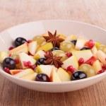 Autumn fruit salad — Stock Photo #33509741