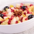 Autumn fruit salad — Stock Photo #33509939