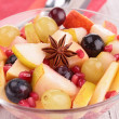 Autumn fruit salad — Stock Photo #33510363