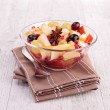 Autumn fruit salad — Stock Photo #33510431