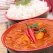 Stock Photo: Curry dish