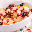 Autumn fruit salad — Stock Photo #34087981