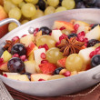 Autumn fruit salad — Stock Photo #34088923