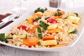 Vegetable and grain — Stock Photo
