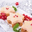 Stock Photo: Christmas canape