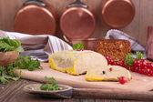 Kawałek foie gras — Zdjęcie stockowe
