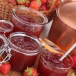 Strawberry jam — Stock Photo #35024271