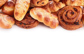 Assortment of pastries — Stock Photo